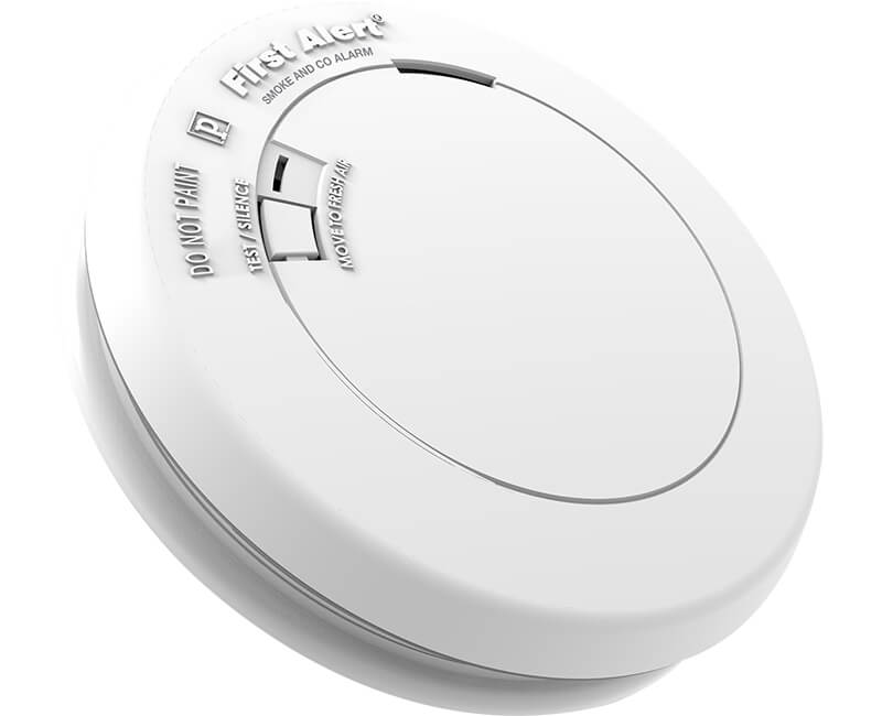 3V Tamper Proof Photo Electric Smoke And CO Detector