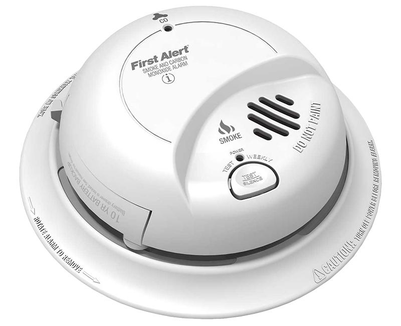 110V Hardwire Smoke & Carbon Monoxide Combo