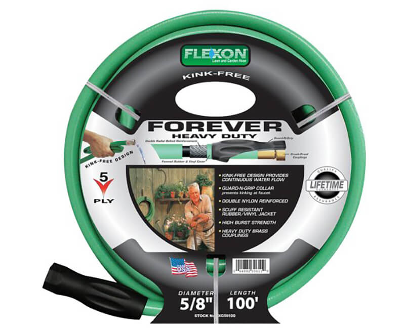 "5/8"" X 100' Forever Flow Heavy Duty Hose"