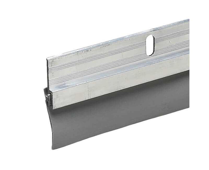"1-1/4"" X 36"" Aluminum Door Sweep - Mill Finish"