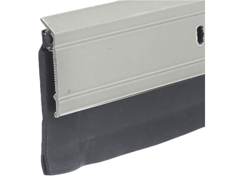 "2"" X 36"" Aluminum Door Sweep - Satin Nickel Finish"