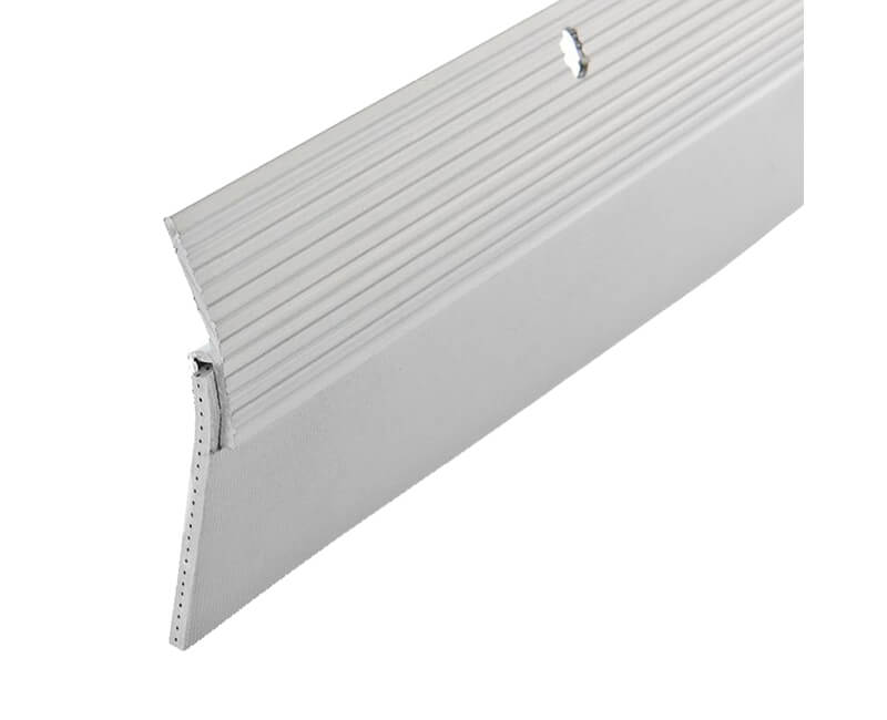 "2"" x 36"" Aluminum Door Sweep - White Finish"