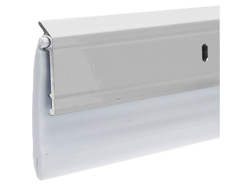 "2-3/8"" X 36"" Aluminum Door Sweep - Mill Finish"
