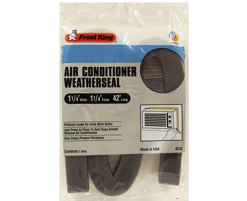"1-1/4"" X 1-1/4"" X 42"" Air Conditioner Weather Seal"