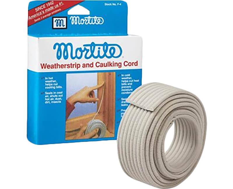 90' Mortite Caulking Cord - Grey
