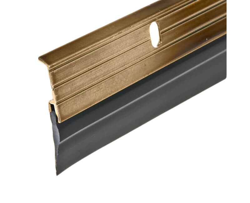 "9-5/8"" X 36"" Aluminum Door Sweep - Bronze Finish"