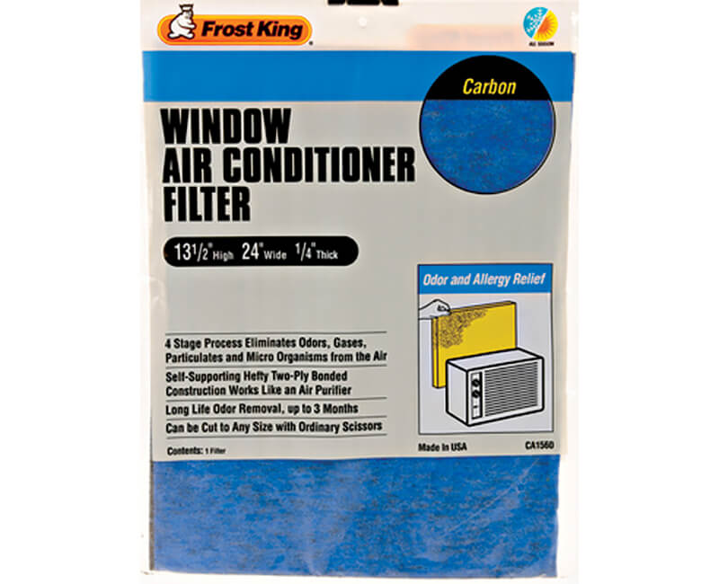 "15"" X 24"" X 1/4"" Carbon Air Conditioner Filters"