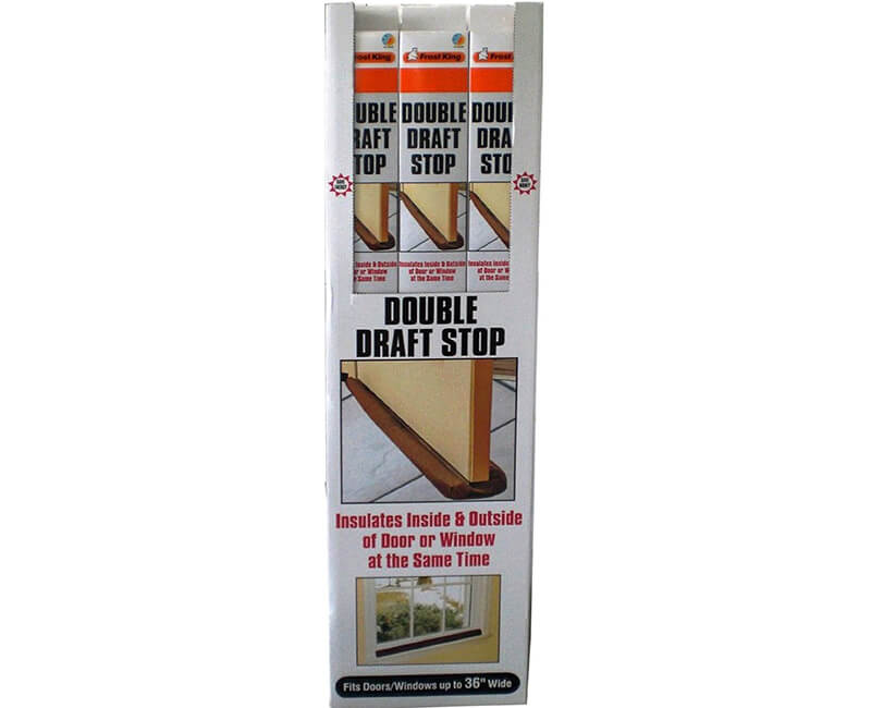Double Draft Stop For Door Or Window