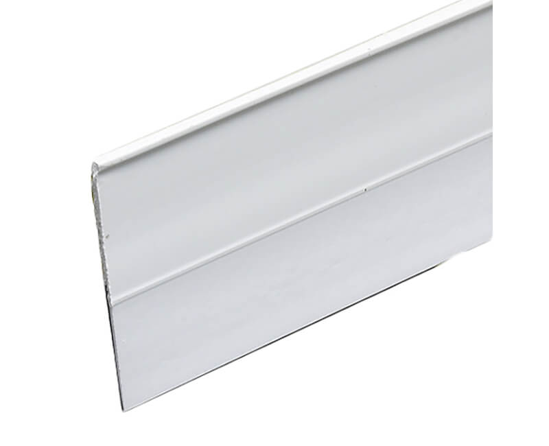 "1-1/2"" X 36"" Self-Stick Door Sweep - White Finish"