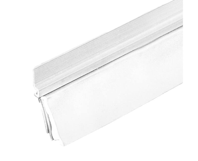"36"" EZ Stick Door Sweep - White Finish"
