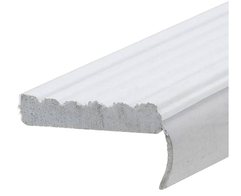 "3"" x 7' White Garage Door Weatherseal"