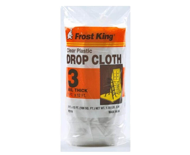 9' X 12' Drop Cloth - 3 Mil