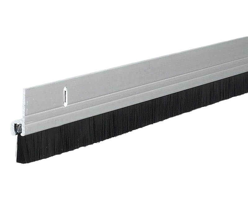 "2"" X 36"" Aluminum Door Sweep - Brush"