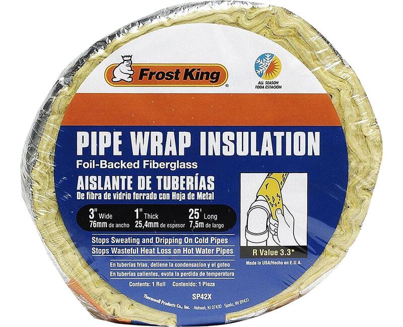 Fiberglass Pipe Wrap Insulation