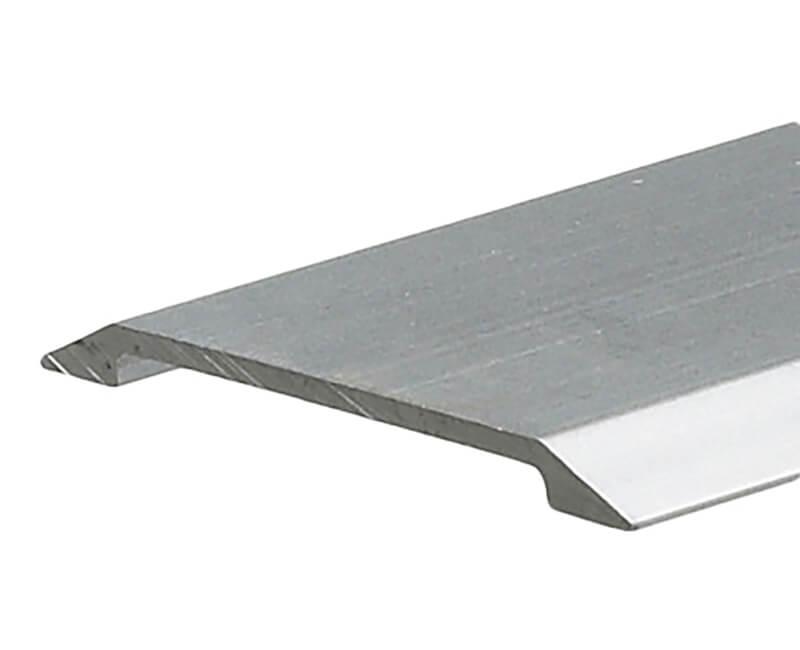 "1-3/4"" X 36"" Flat Top Saddle Threshold - Silver"