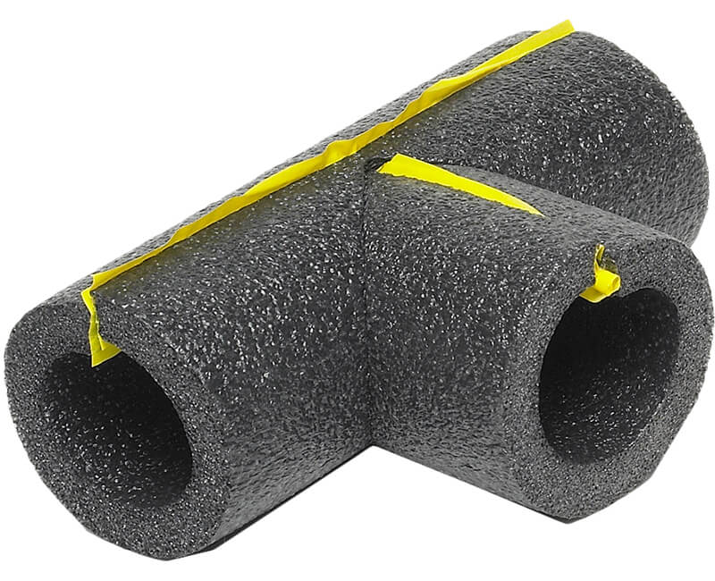 "1"" Tee Connector For Poly Foam Pipe Insulation"