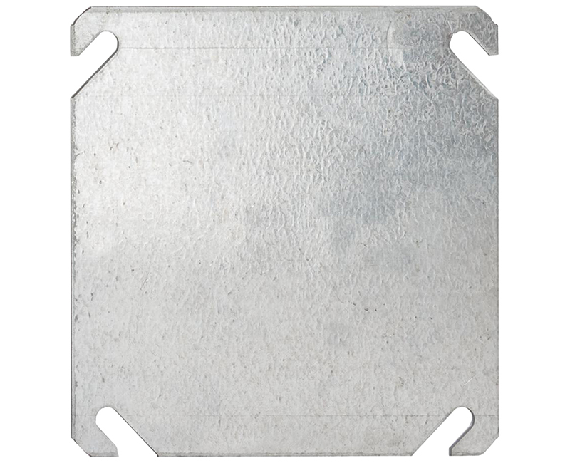 """4"""" SQUARE 1900 FLAT COVER BLANK"""