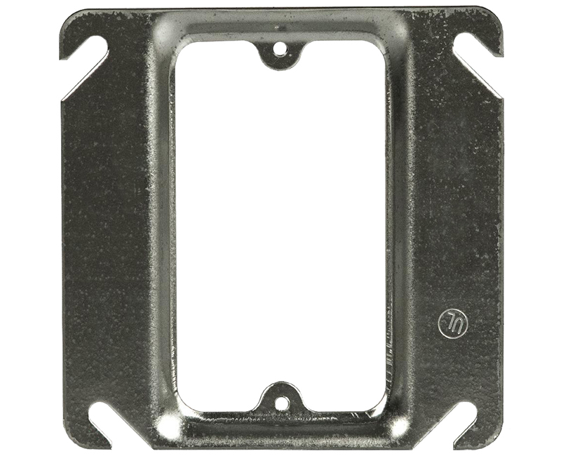 "2 GANG 1/4"" RAISED 1 DEVICE 4"" RAISED 1900 ADAPTER PLATE"
