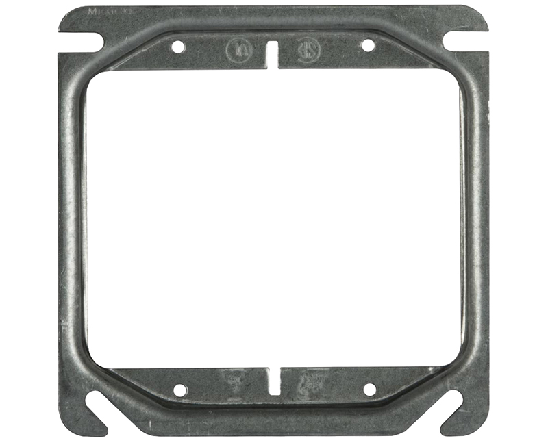 "2 GANG 1/4"" RAISED 2 DEVICE 4"" RAISED 1900 ADAPTER PLATE"