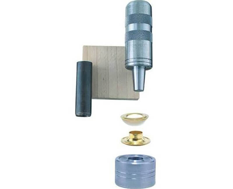 "3/8"" Solid Brass Grommet Kit - Carded"