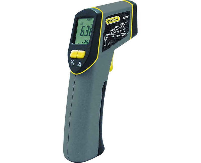 8:1 Mid-Range Infrared Thermometer