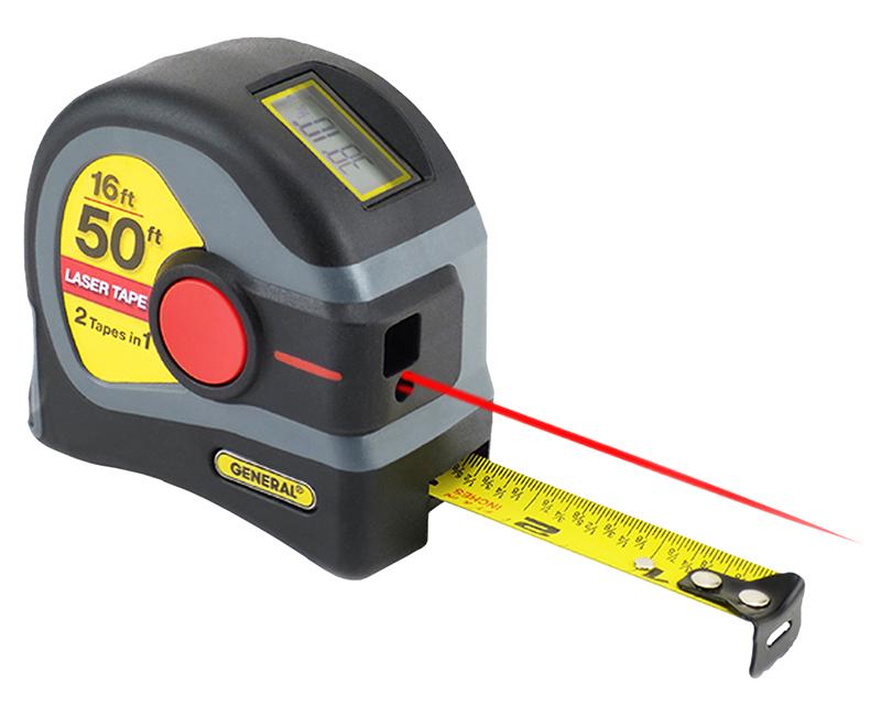 50' Laser & 16' Tape Measure