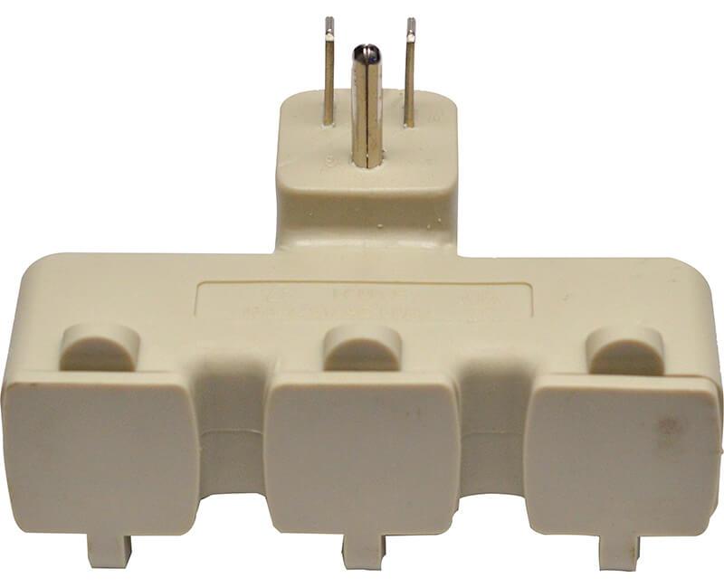 3 Outlet Tri Tap - Beige