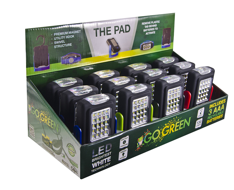 The Pad - COB Display Box LED Rotating Magnetic Stand