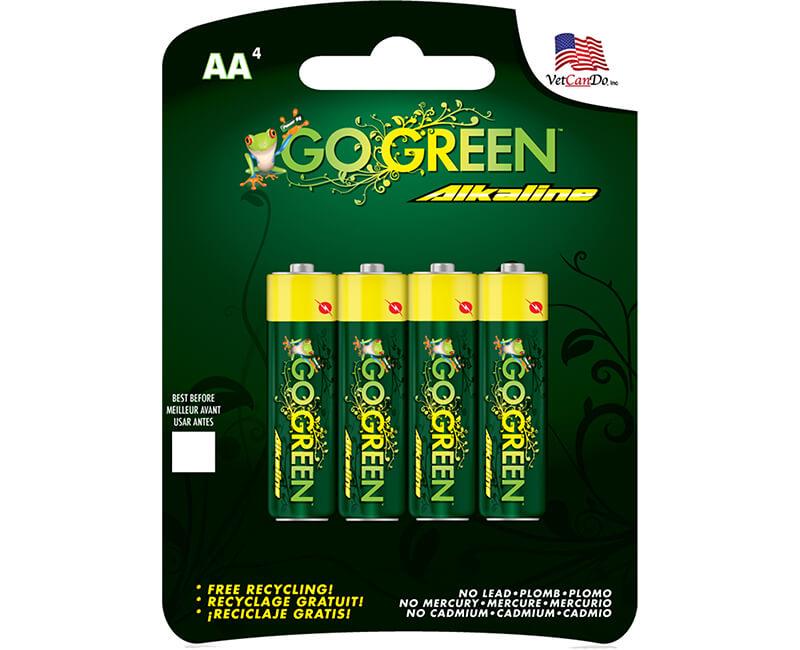 4 Pack AA Alkaline Batteries