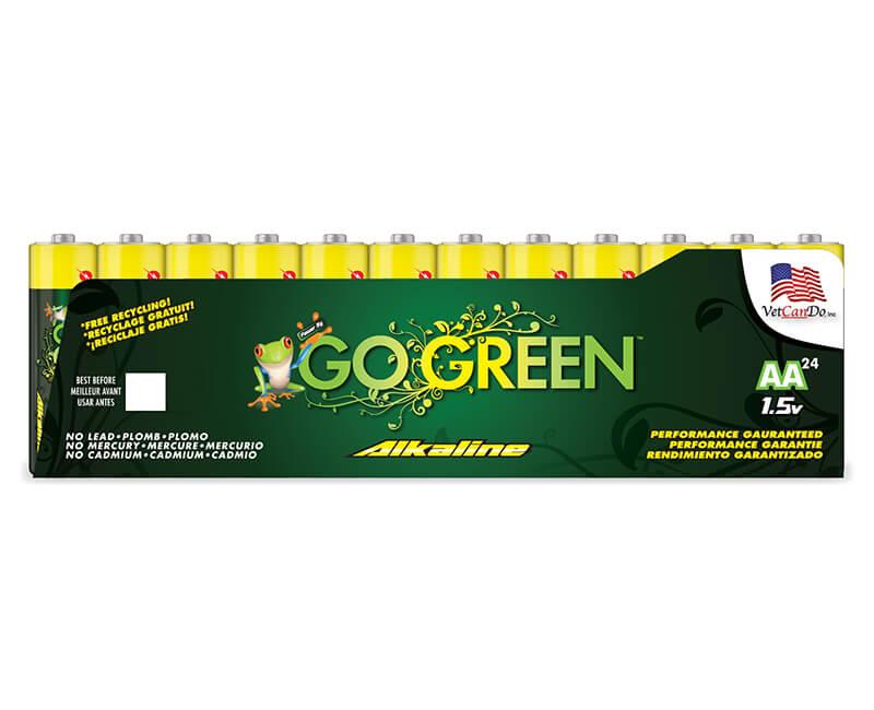 AA Alkaline Batteries - 24 Pack
