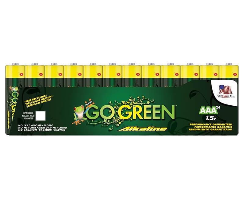 AAA Alkaline Batteries - 24 Pack