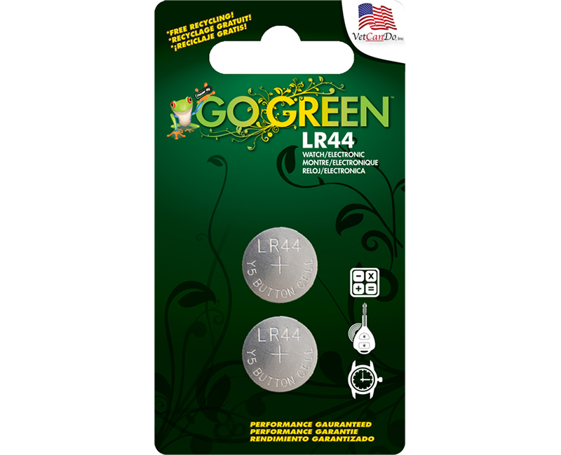1.5 Lithium Button Cell Battery - 2 Per Blister Card