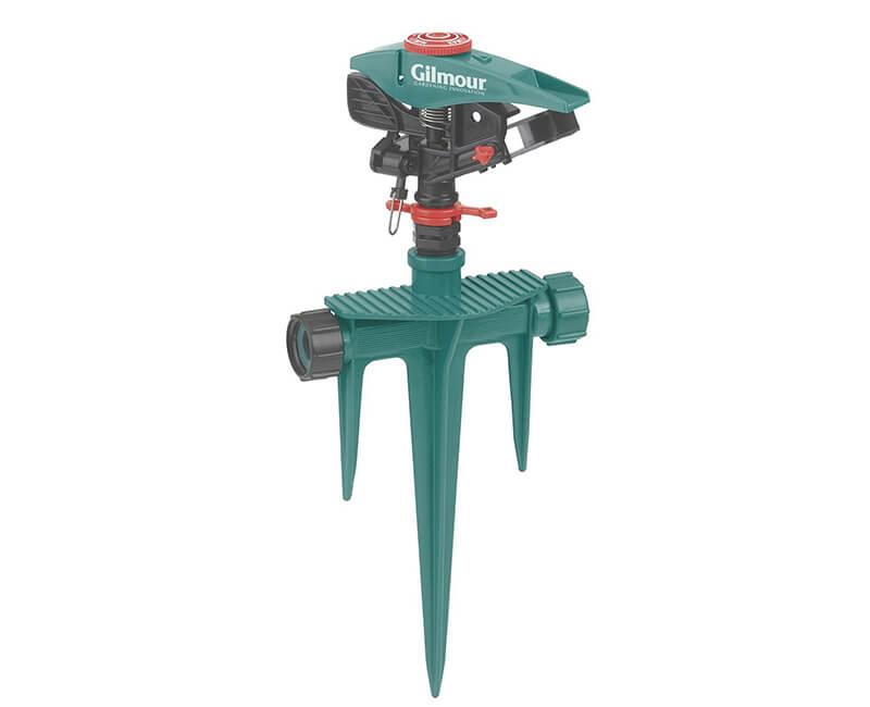 Poly Pulsating Sprinkler With Spike Base - Carded