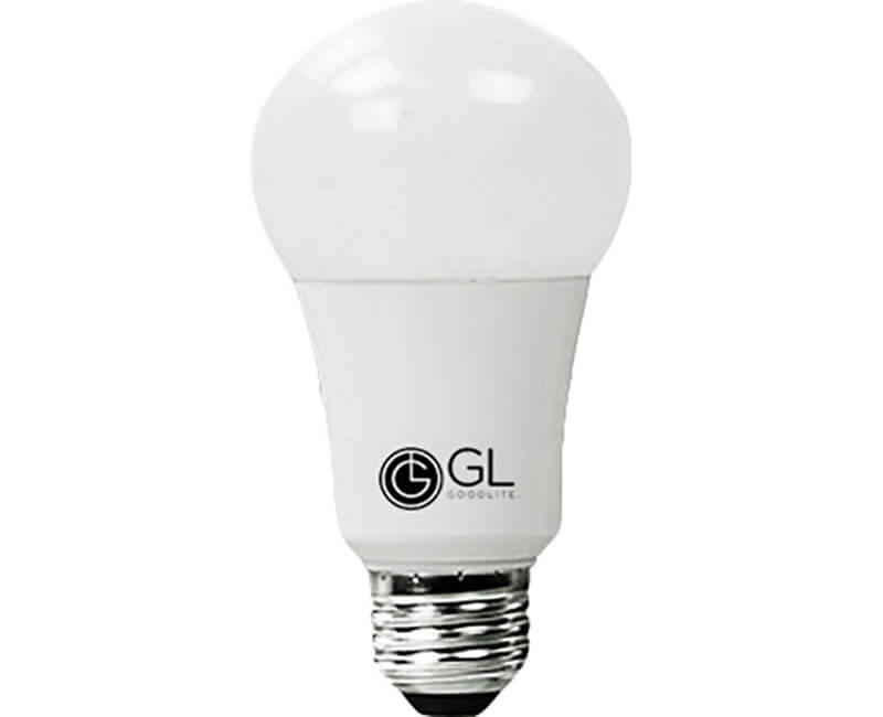 9 Watt A19 LED Light Bulbs - 65K Daylight