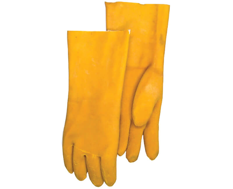"12"" Rubber Coated Gloves"