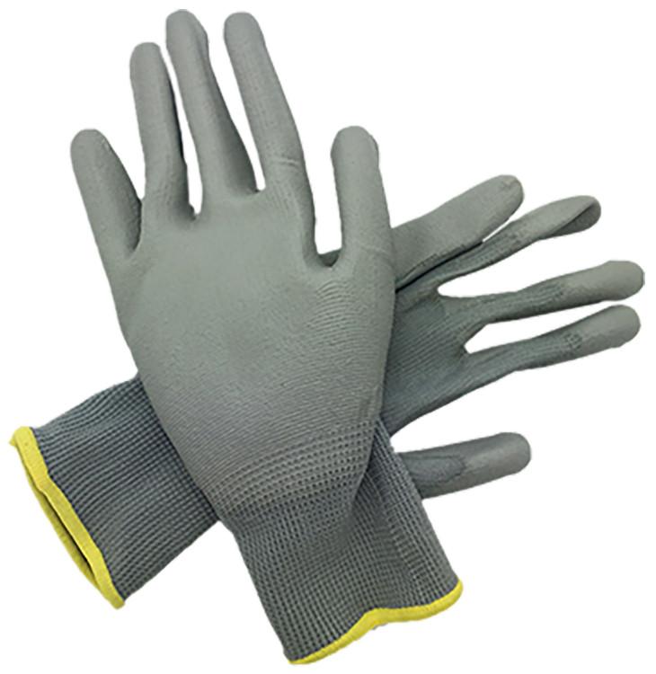 PU Coated Nylon Gloves Large