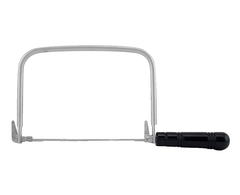 Coping Saw With Plastic Handle - Carded