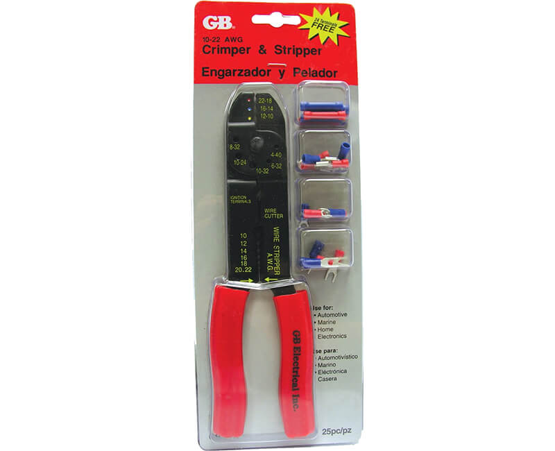 Stripper And Crimping Tool