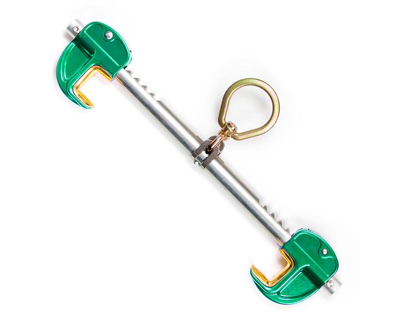 "3.5"" - 14"" Flange Adjustable Aluminum Sliding Beam Anchor"