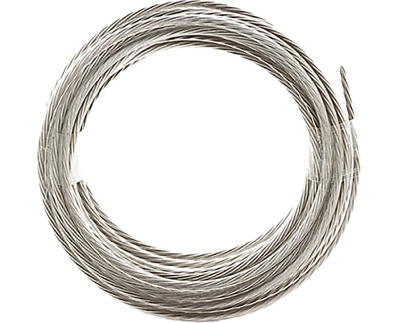 9' Steel Gallery Wire - 30 Lb.