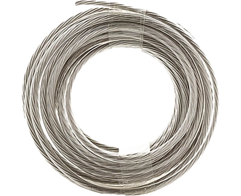 9' Steel Gallery Wire - 50 Lb.