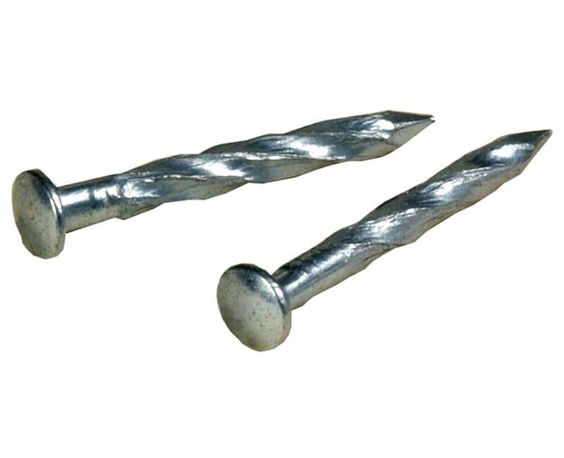 """1-1/4"""" Metal Trim Nails - Zinc"""