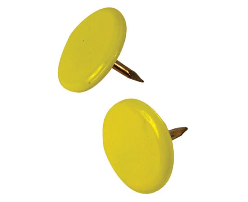 Yellow Thumb Tack - 40 PCS