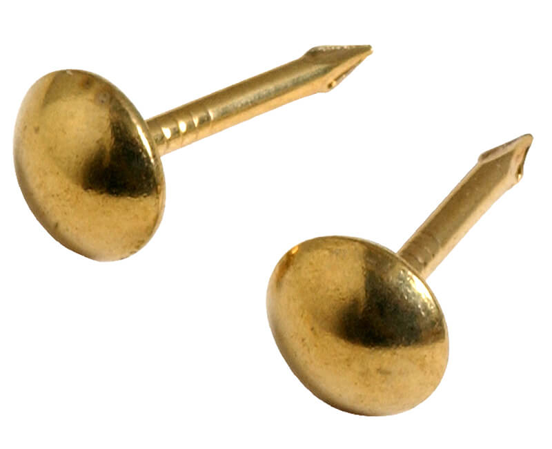 Round Small Head Brass Furniture Nails