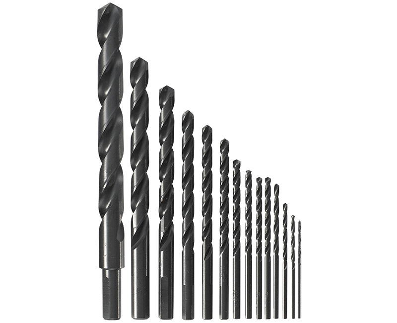 Black Oxide Drill Bit Set -14 Piece