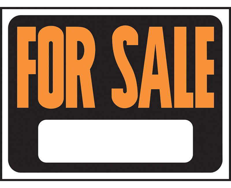 "9"" X 12"" Signs - For Sale"