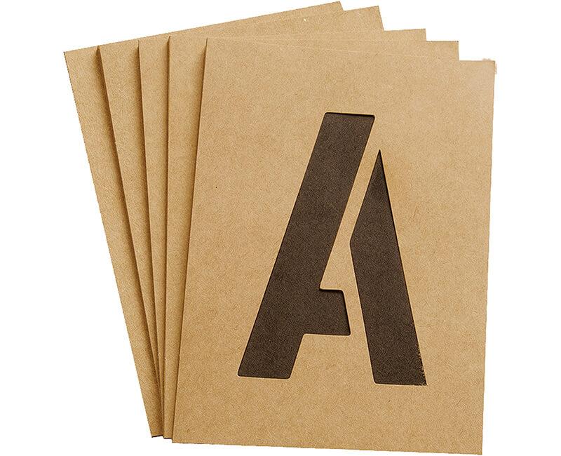 """4"""" Stencils"""