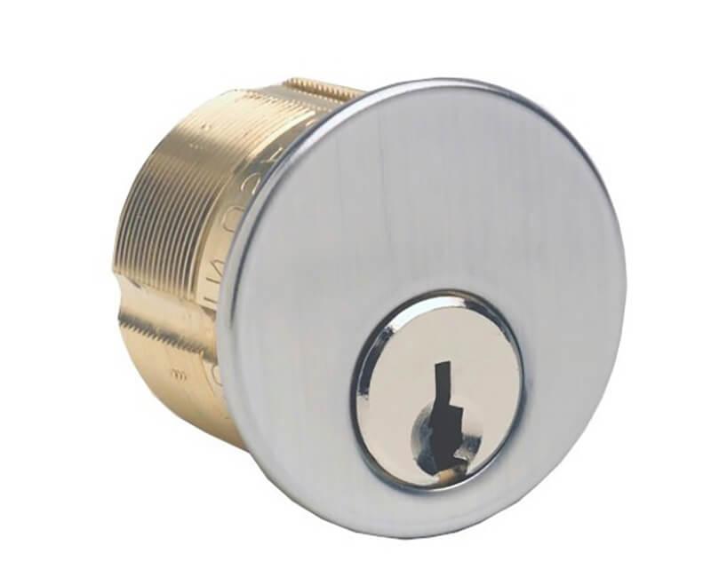 "1"" Mortise Cylinder AR1 Keyway A.R. Cam US26D KA2"