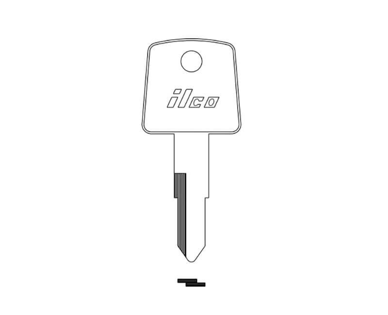 Ilco Auto Key Blank For Some Honda Same As ILX138