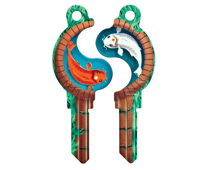 Key Mates Koiyang KW1 2 Keys/ Card